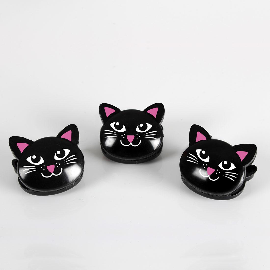 """Зажимы для пакетов """"Коты"""", 6 штук [06747],"""