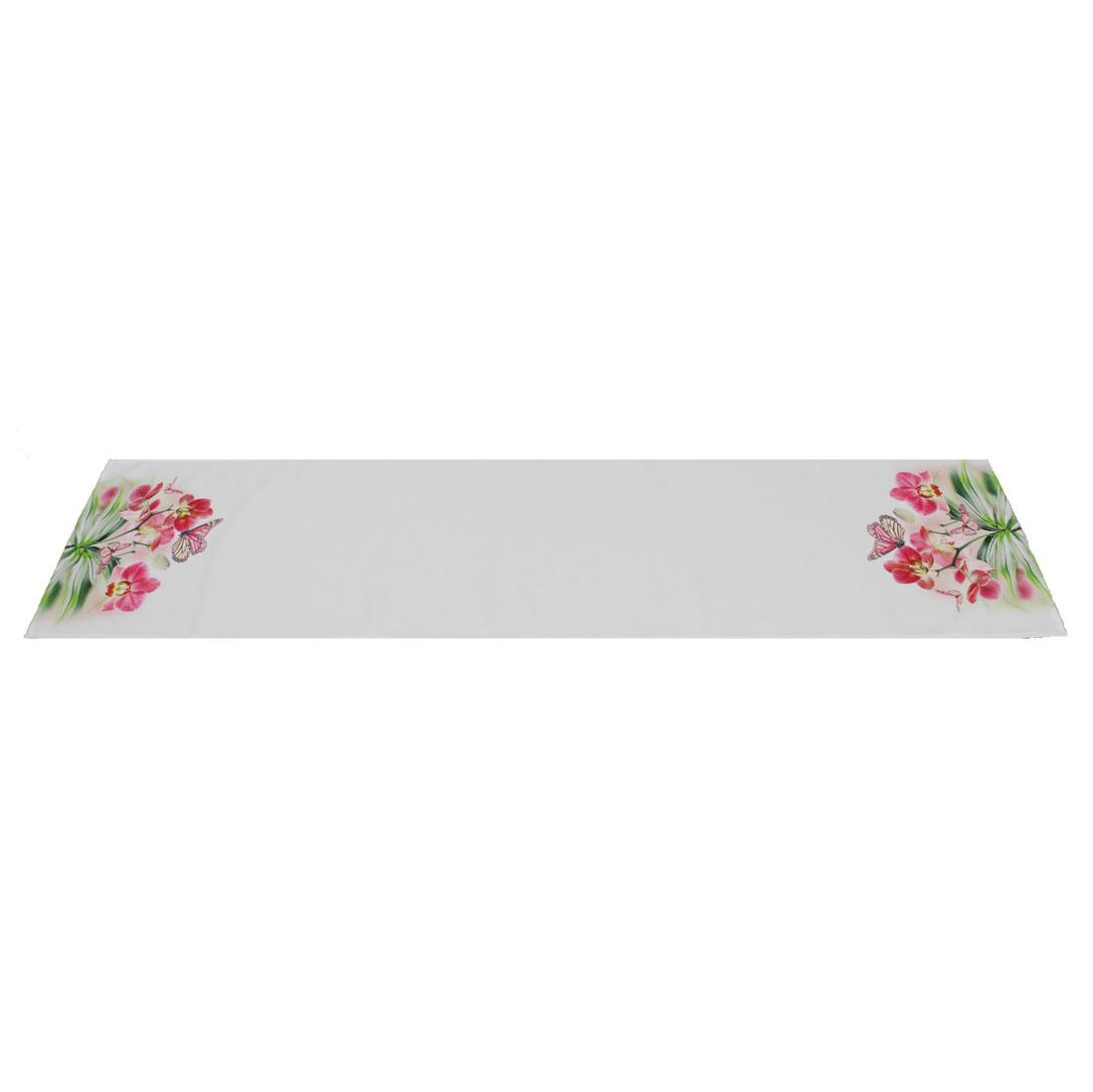 """Дорожка на стол """"Бабочка на орхидеях"""" [06425],"""