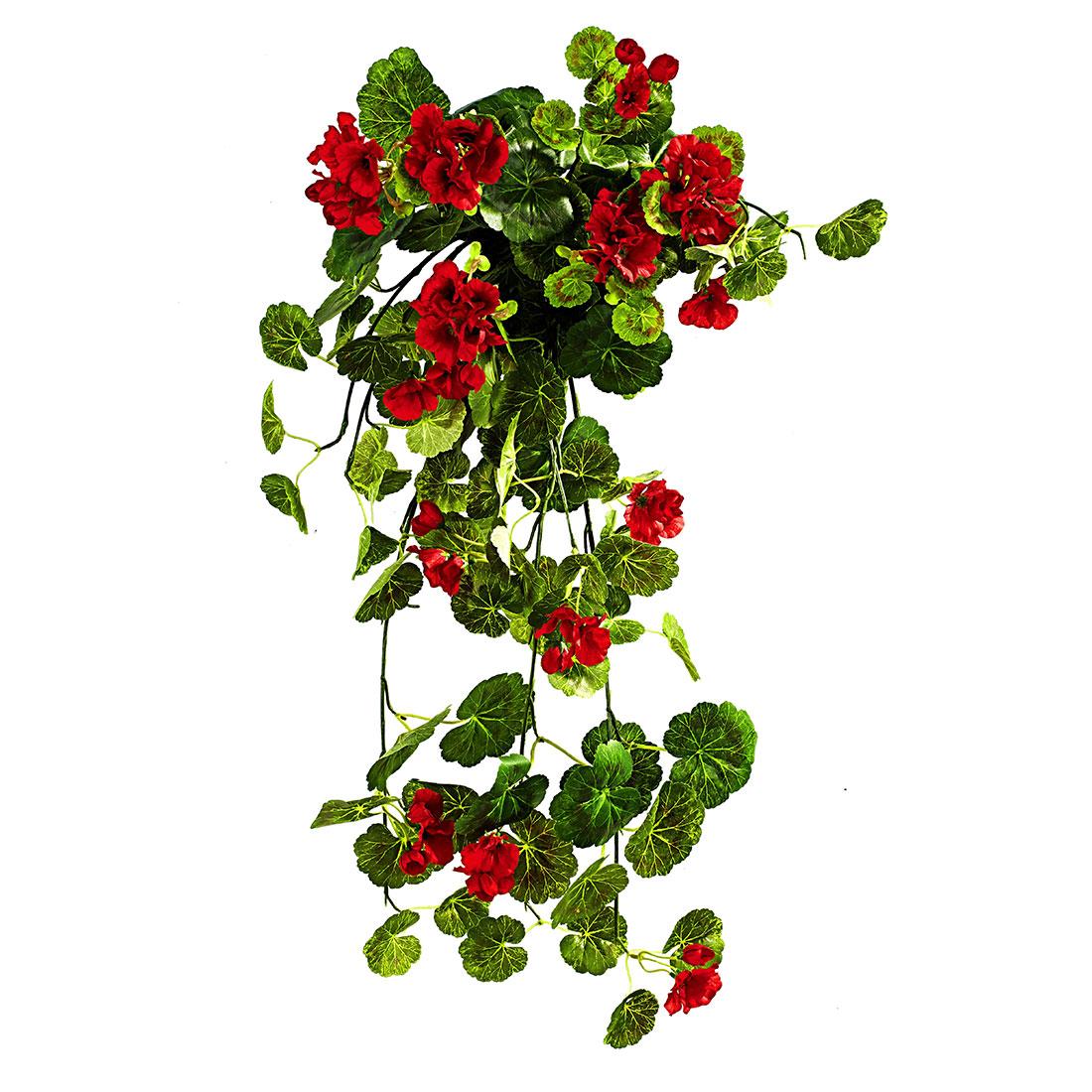 """Декоративное растение """"Красная герань"""" [06677],"""