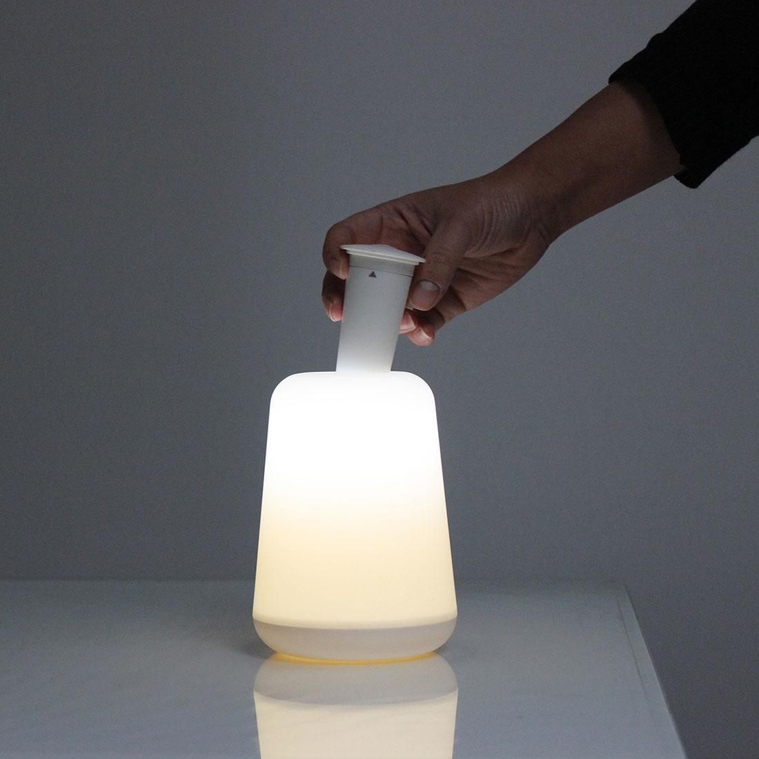 """Настольная светодиодная лампа """"2 в 1"""", со съемным фонариком [06787],"""