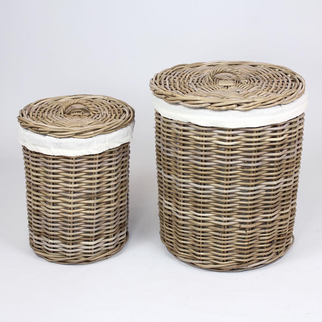"""Корзины для белья """"Натур"""", 2 штуки [06813],"""