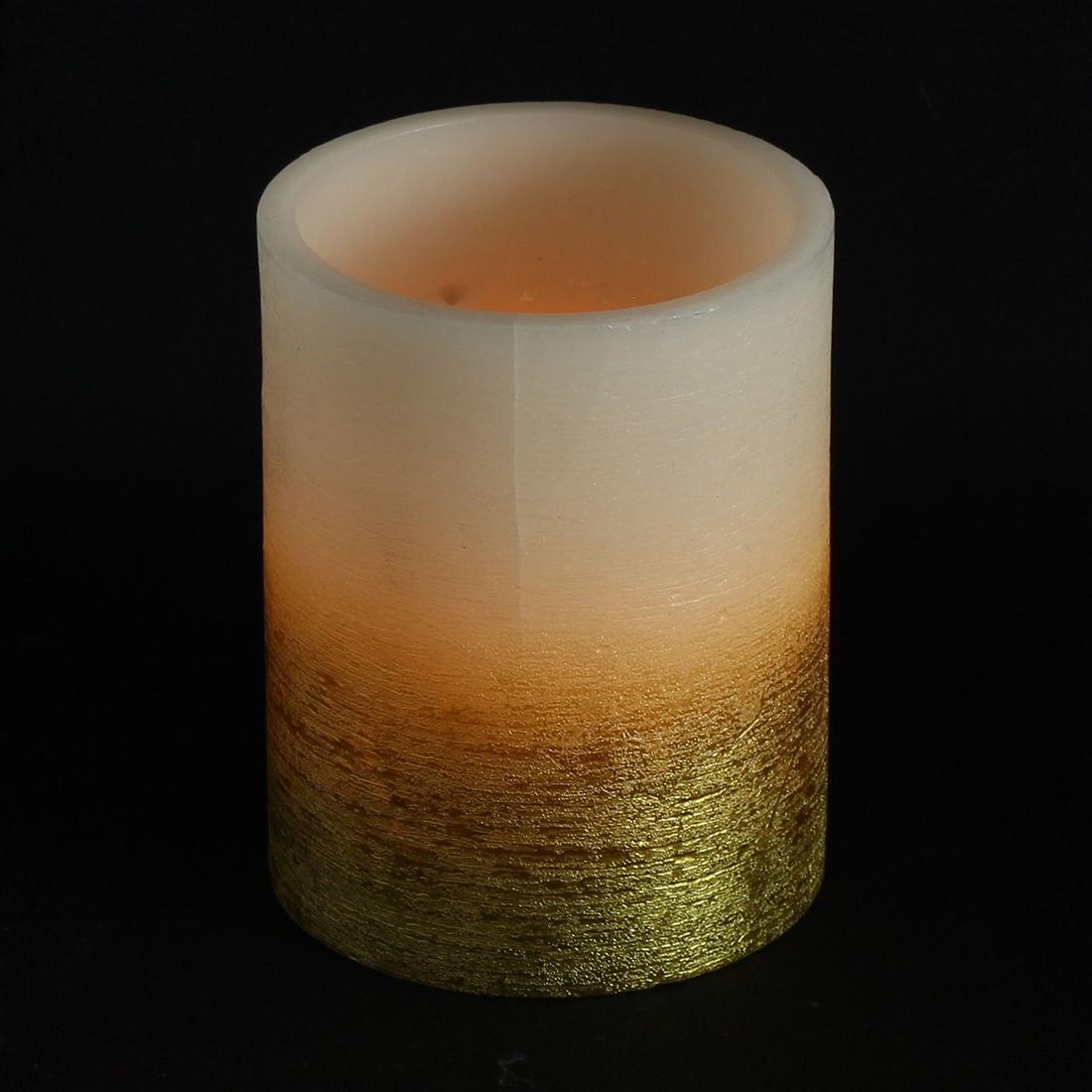 """Светодиодный светильник """"Свеча - золотое мерцание"""" [06853],"""