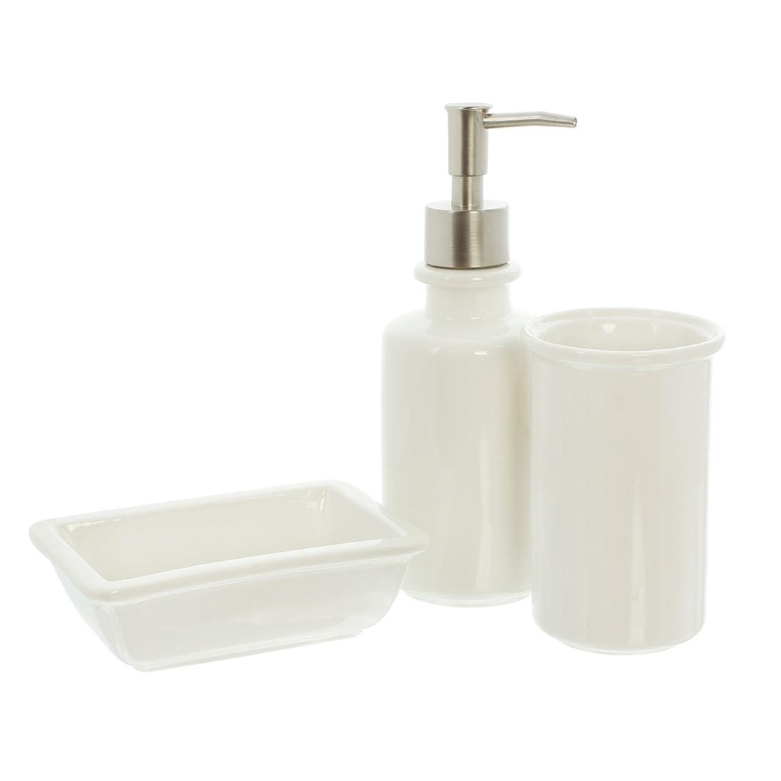 """Набор для ванной комнаты """"Le Bain"""", 3 предмета [06855],"""