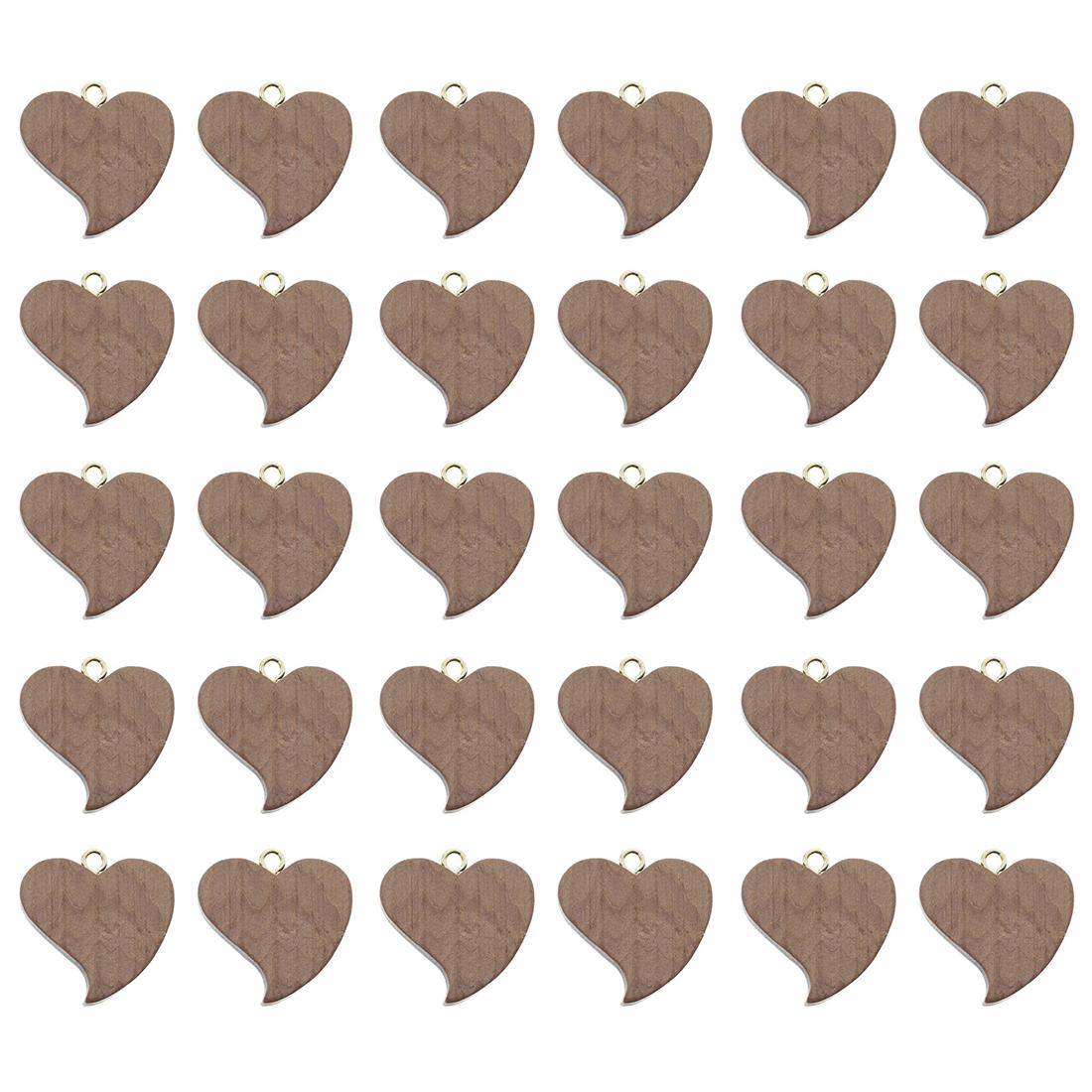 """Подвесные фигурки """"Сердечки"""", 30 штук [06899],"""
