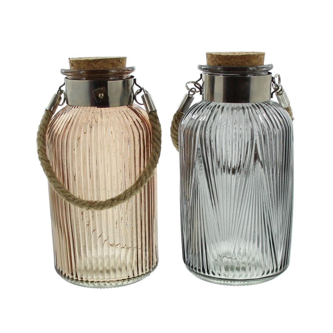 """Декоративные вазочки со светодиодной подсветкой """"Деко"""", 2 штуки [06995],"""