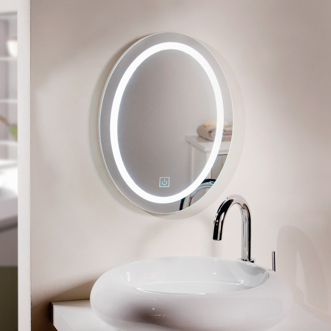 """Зеркало настенное """"Прикосновение"""" [06996],"""