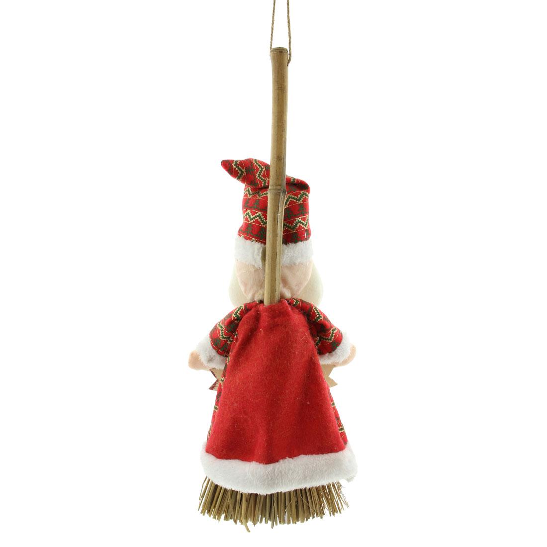 """Подвесное украшение """"Метла - Счастливого Рождества"""" [07022],"""