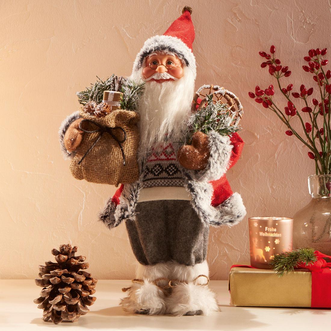 "Декоративная фигура ""Санта Клаус в унтах"" [07036],"