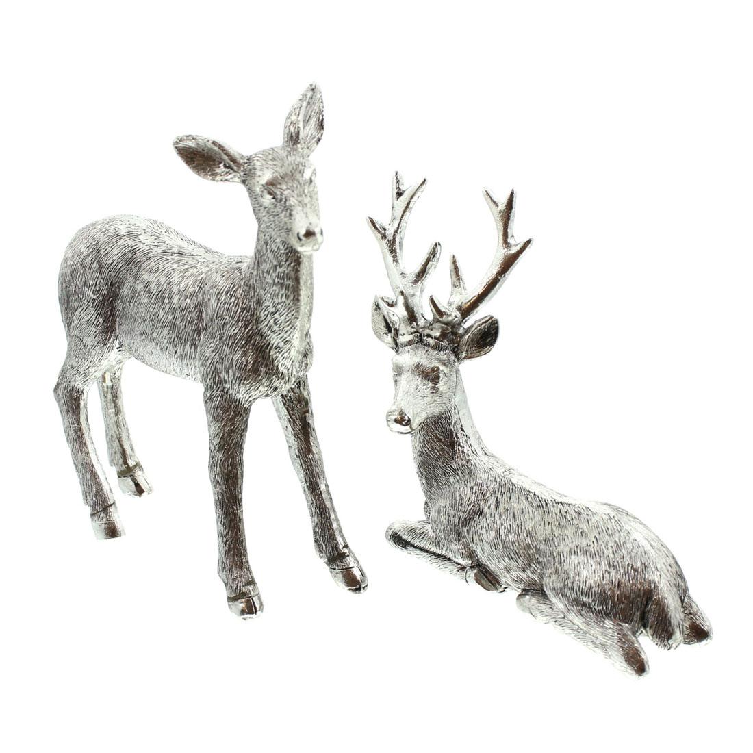 """Декоративные фигуры """"Пара оленей"""", 2 штуки [07042],"""