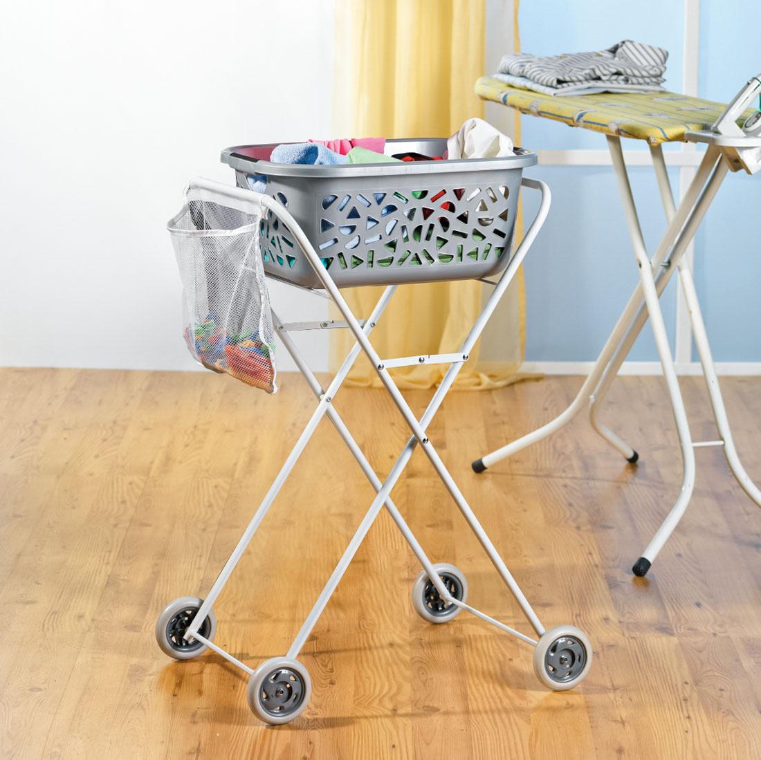 "Тележка для корзины для белья ""Trolley"" [07115],"