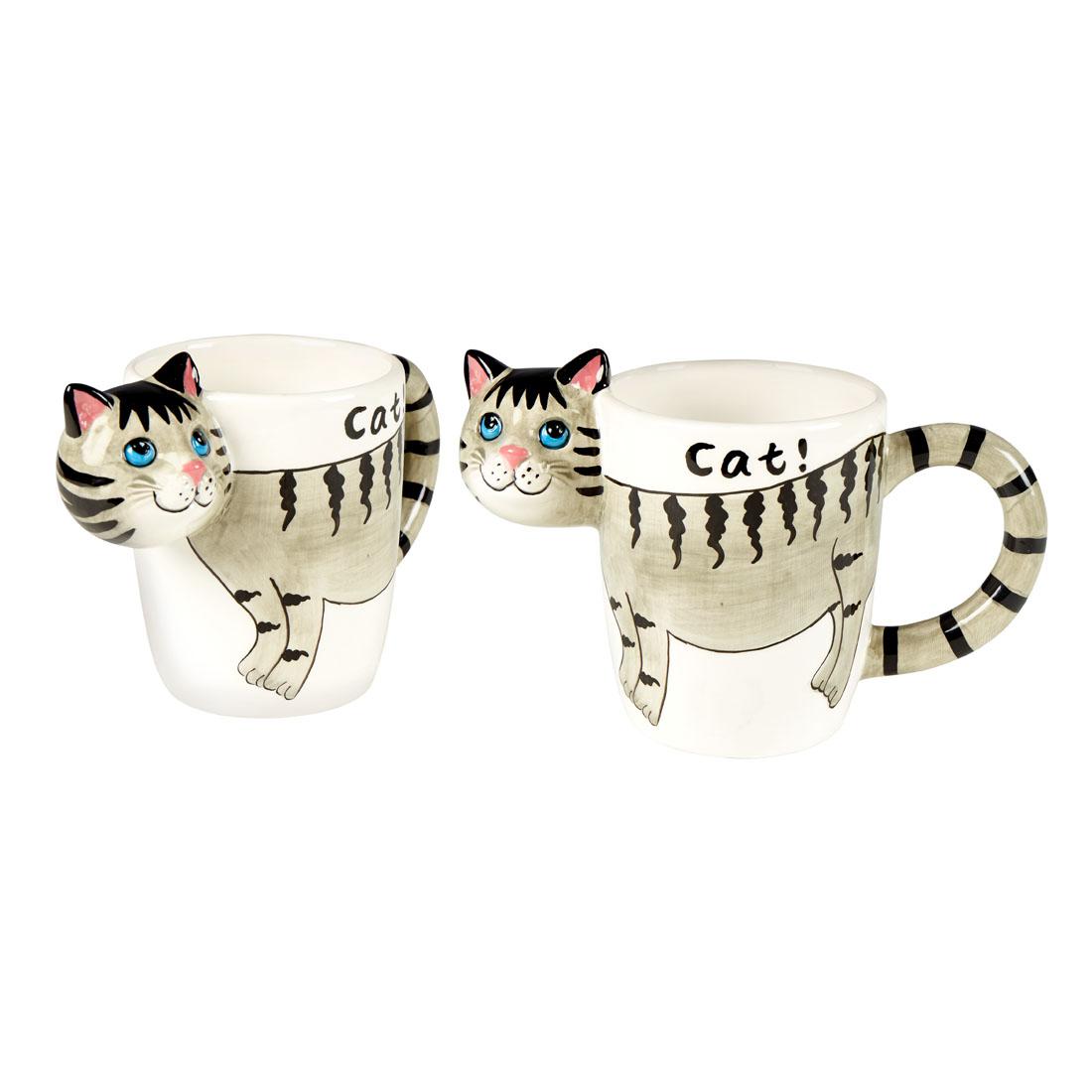 """Чашки 3D """"Кошки"""", 2 штуки [07135],"""