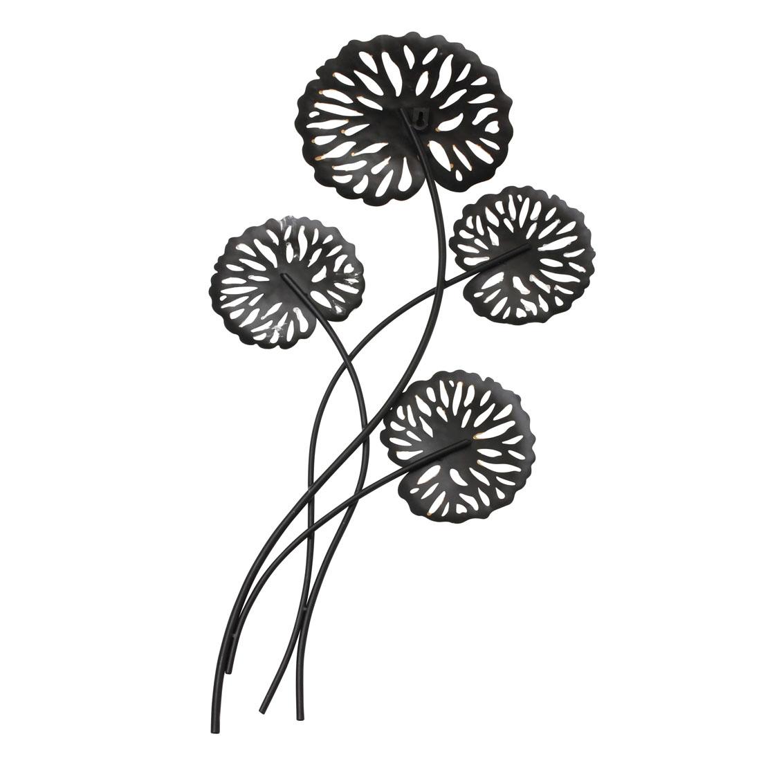 """Настенное украшение """"Бронзовые листья"""" [07182],"""