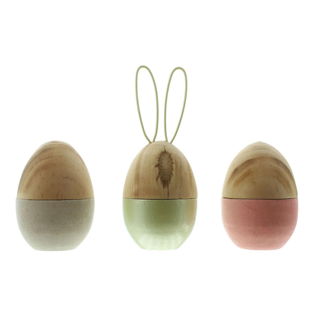 """Декоративные фигуры """"Пасхальные яйца"""", 3 штуки [07211],"""