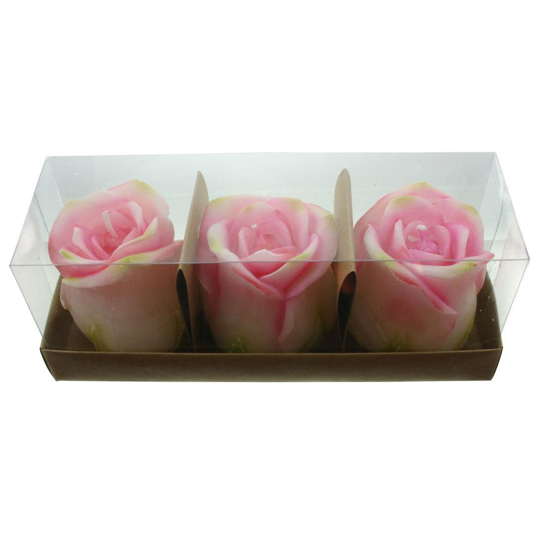 """Свечи декоративные """"Розы"""", 3 штуки [07220],"""