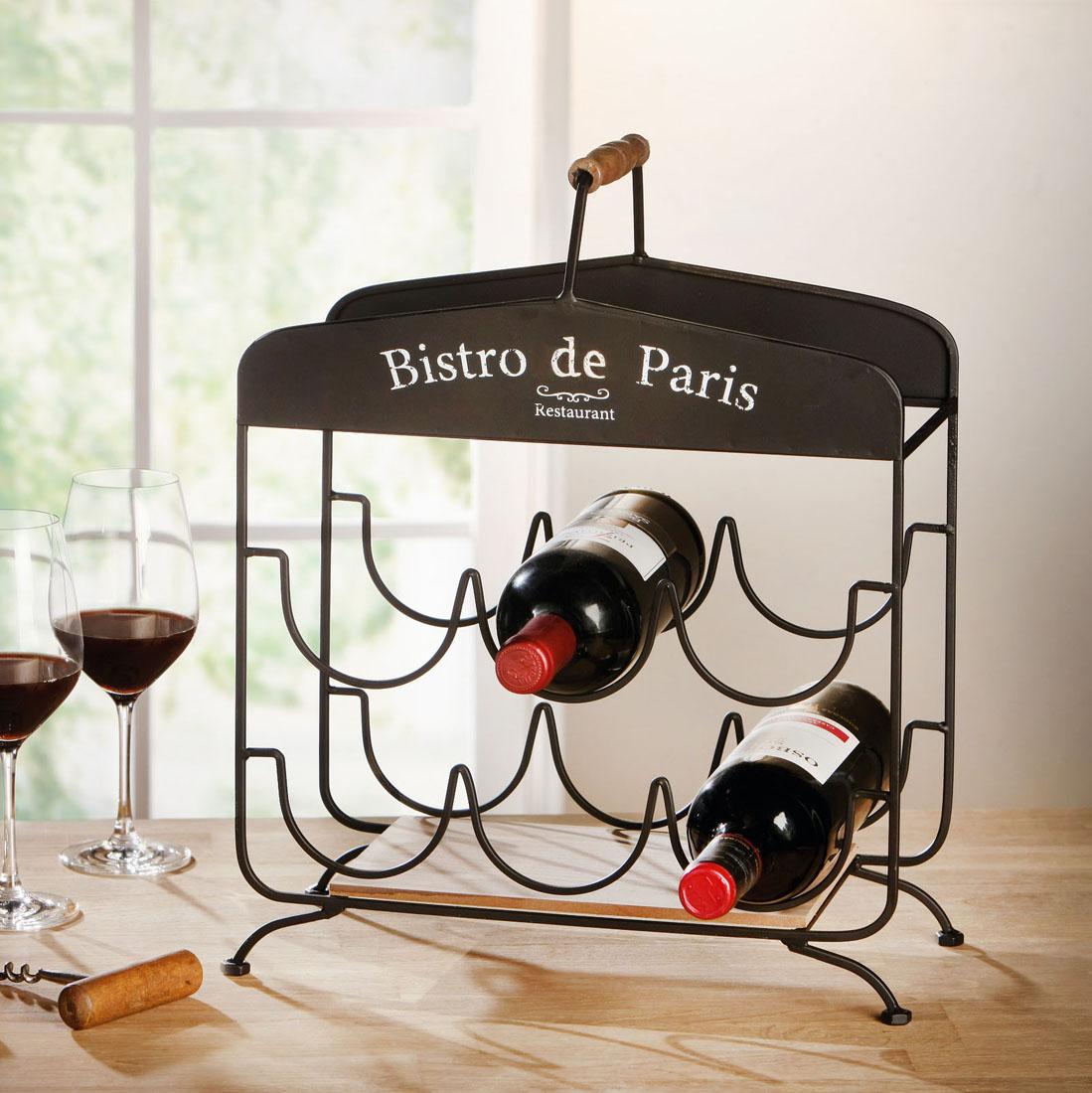 """Подставка для бутылок """"Bistro de Paris"""" [07266],"""