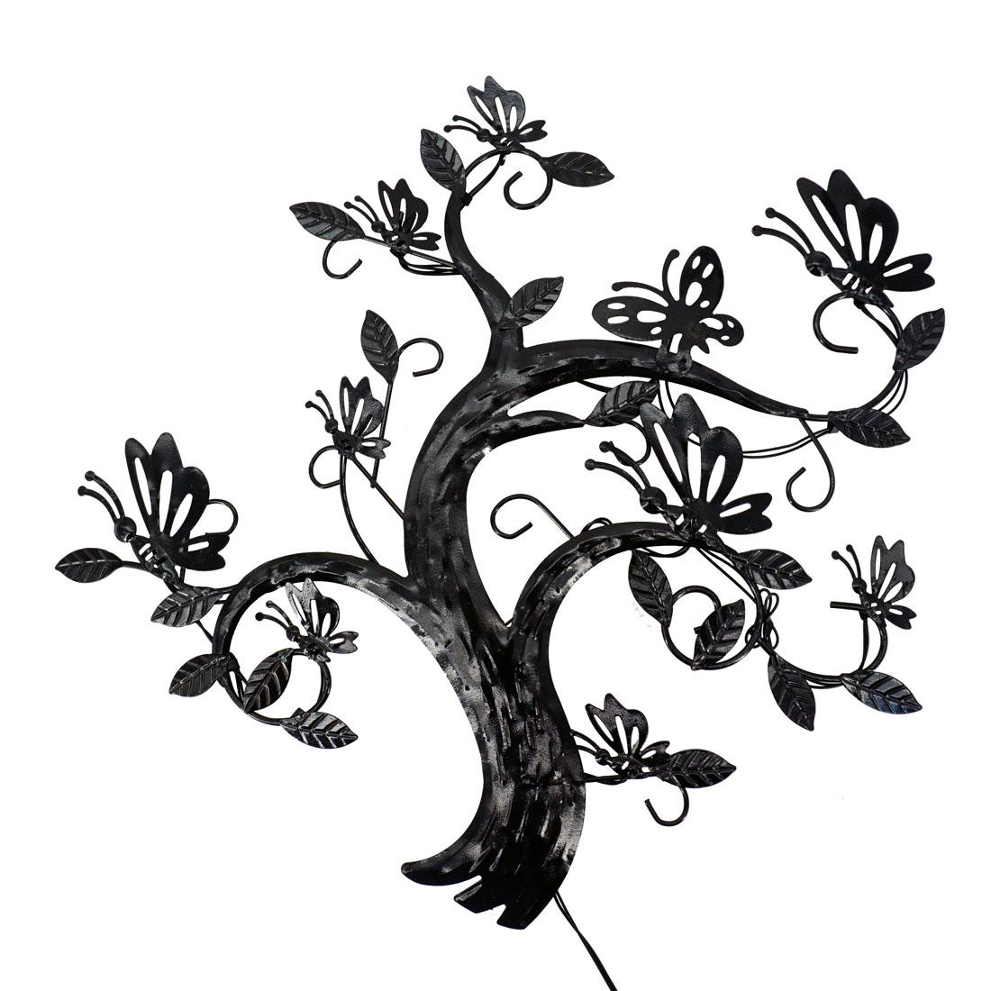 """Настенное украшение """"Бабочки на дереве"""", с подсветкой [07347],"""