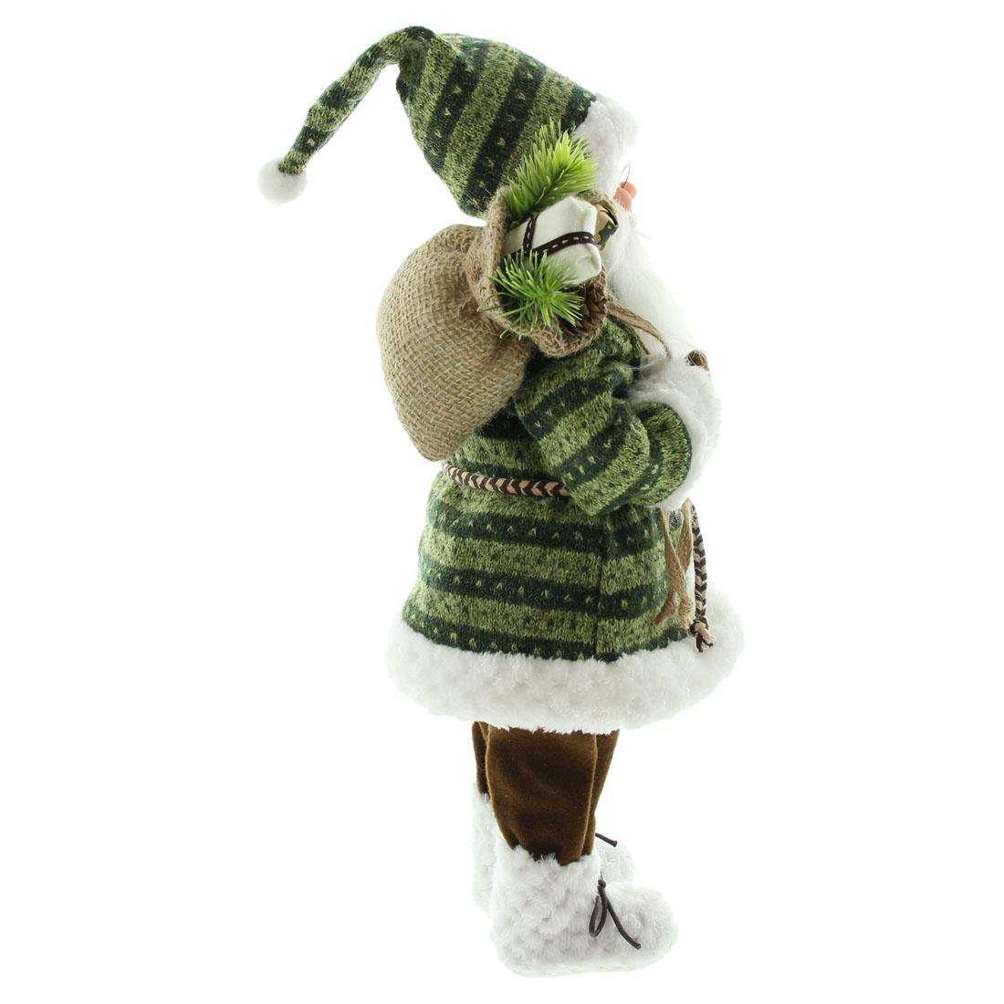 """Декоративная фигура """"Санта с лыжами"""" [07604],"""