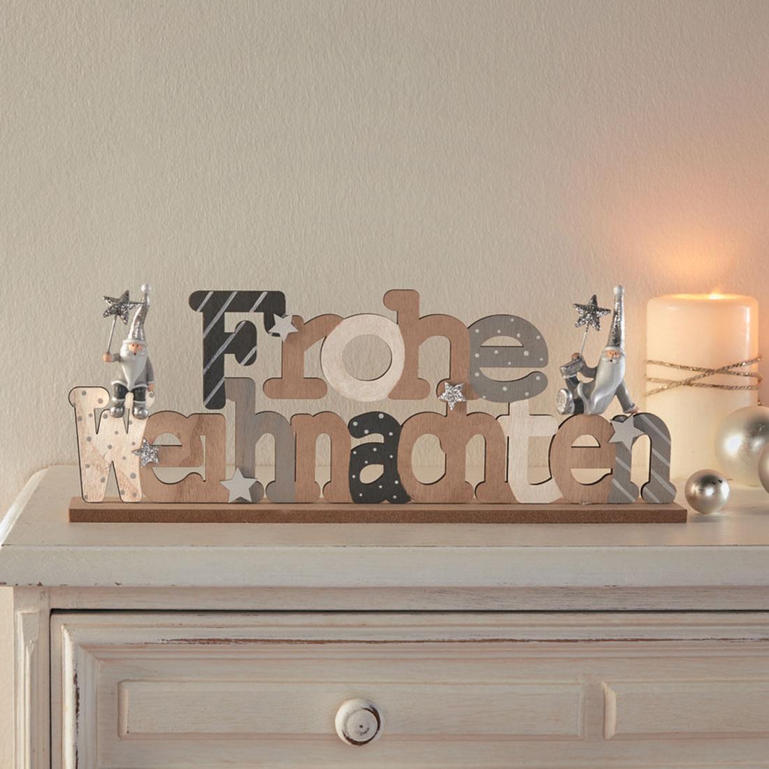 """Декоративное украшение """"Frohe Weihnachten"""" [07653],"""