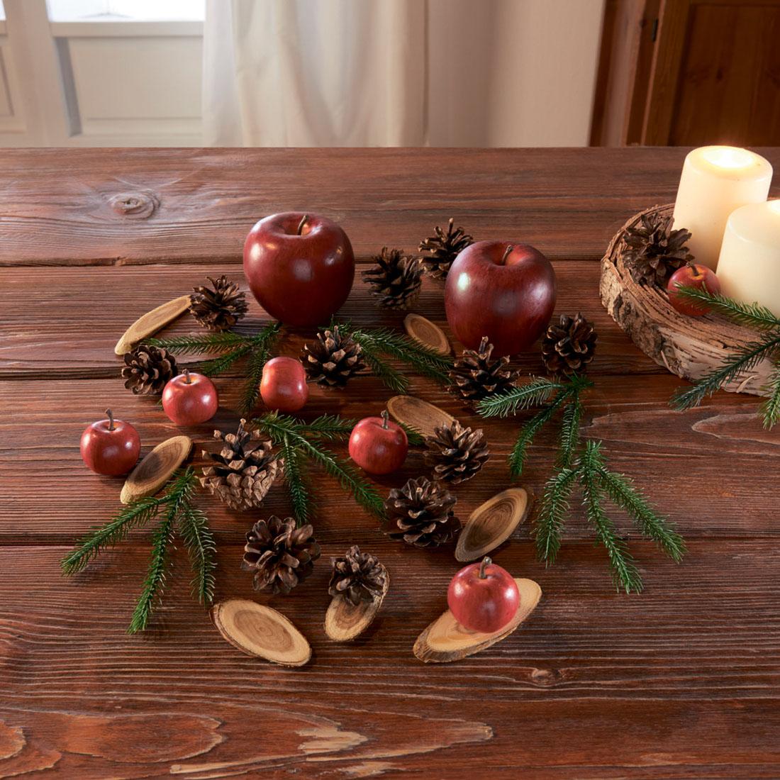 """Набор для декора """"Яблочки"""" [07694],"""