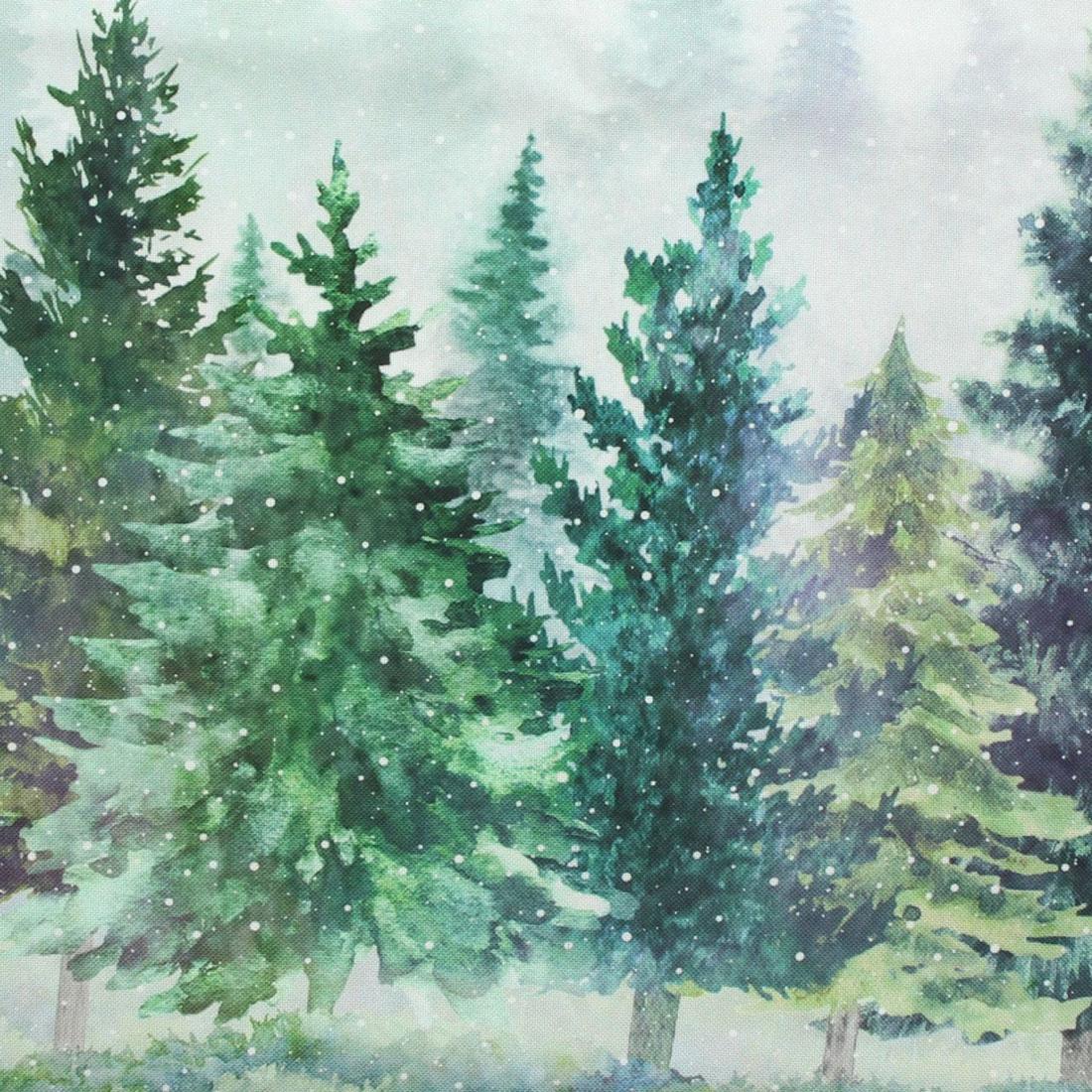 """Скатерть столовая """"Еловый лес"""" [07722],"""