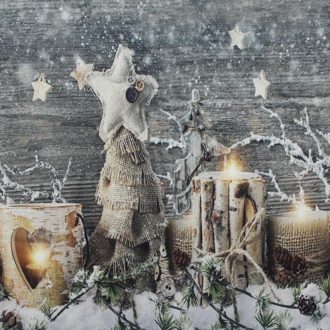 """Скатерть столовая """"Рождественское время"""" [07724],"""