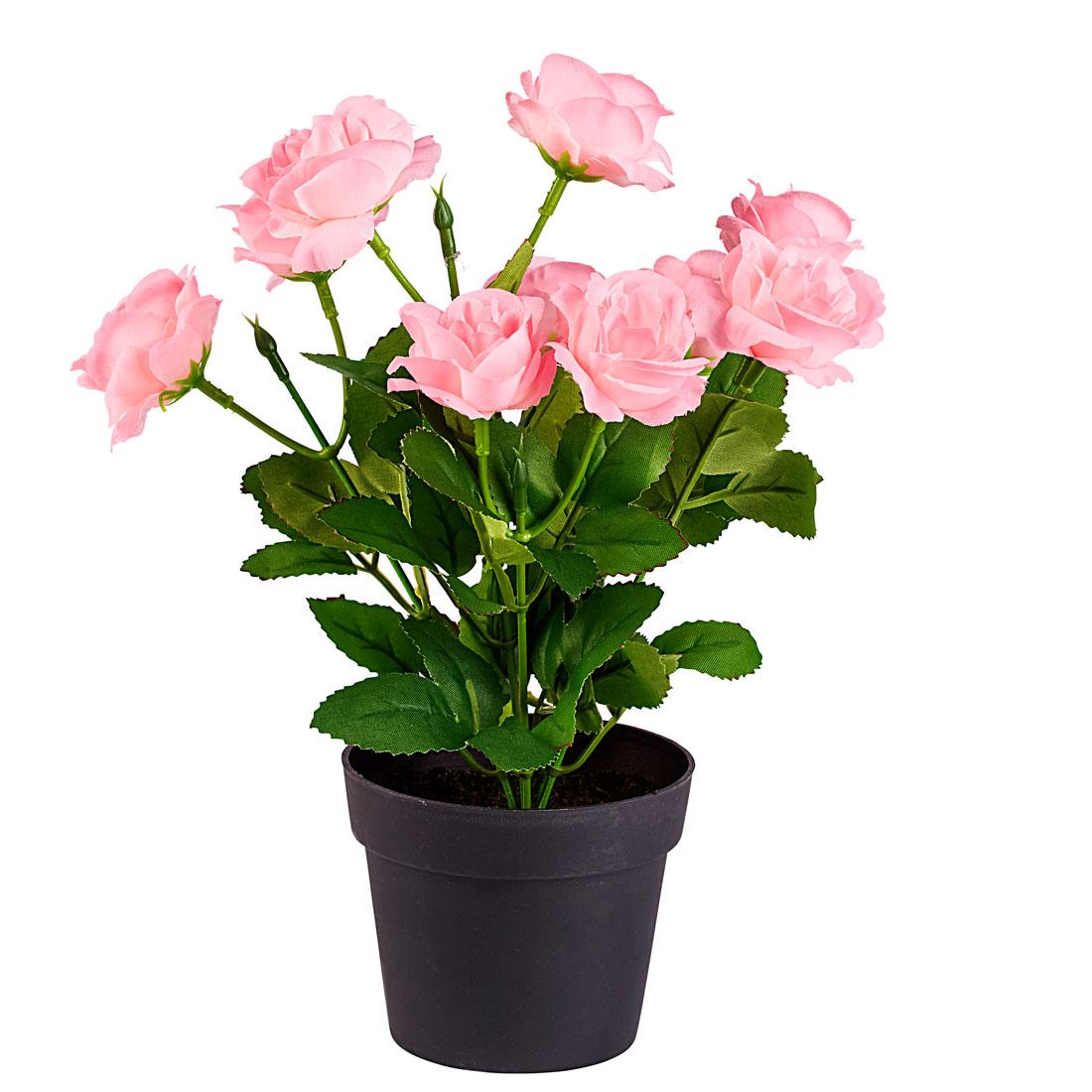 """Декоративный цветок """"Розовые розы"""" [07775],"""