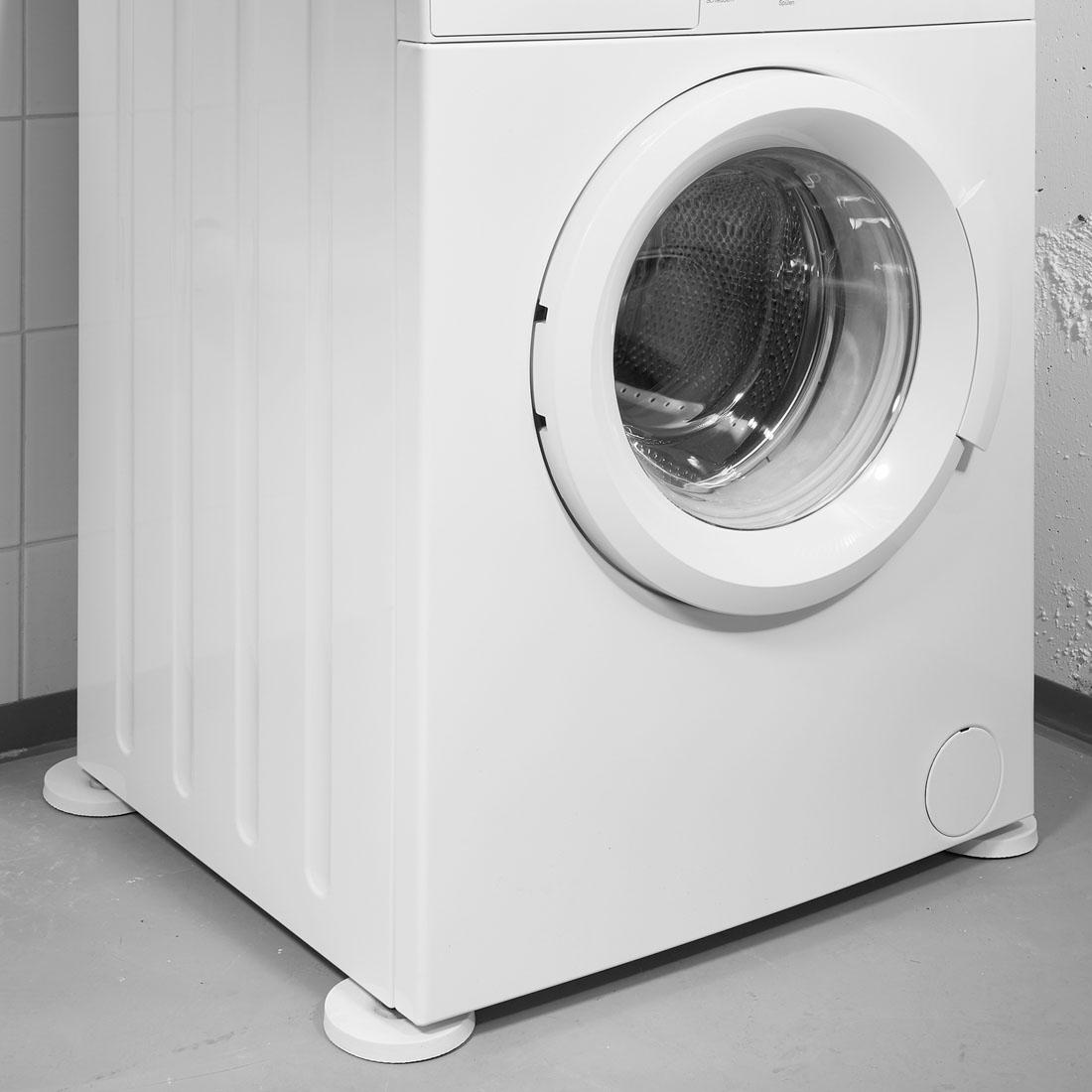 Поглотители шума и вибрации для стиральной машины, 4 штуки [07866],