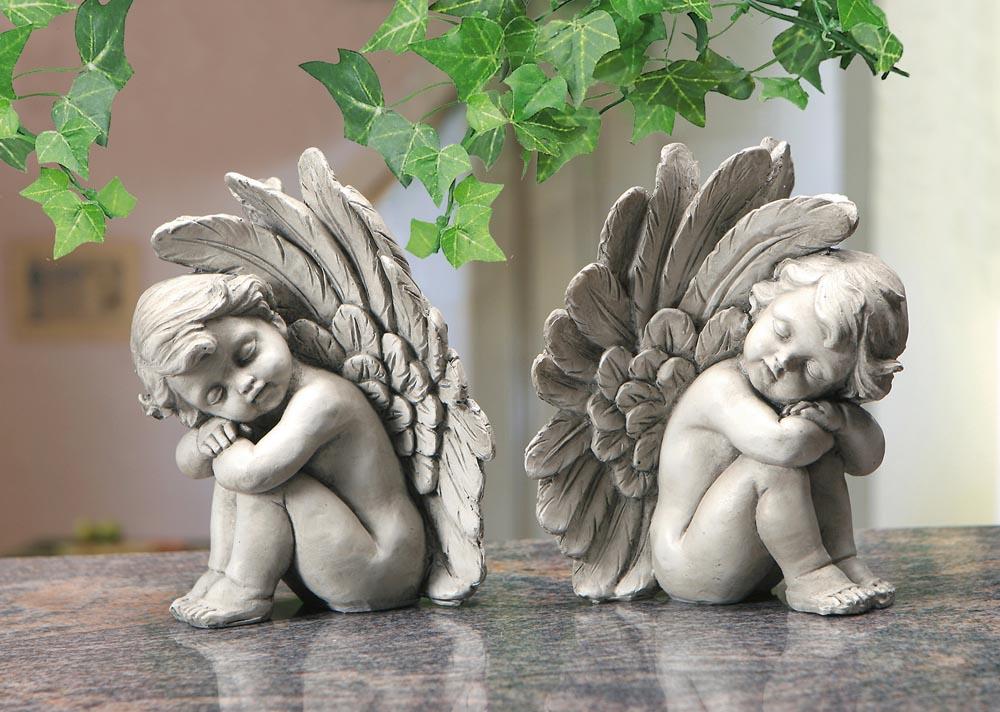 """Декоративные фигурки """"Мечтающие ангелы"""", 2 шт."""