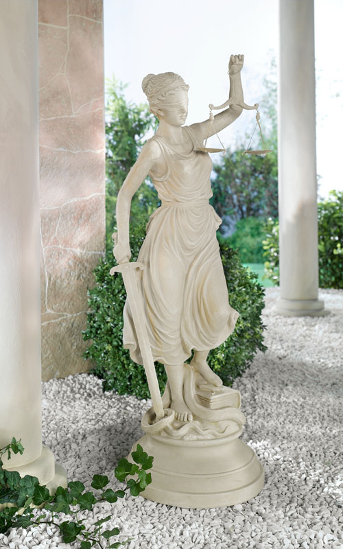 """Декоративная фигура """"Богиня правосудия"""" Высота 77см [801132]"""