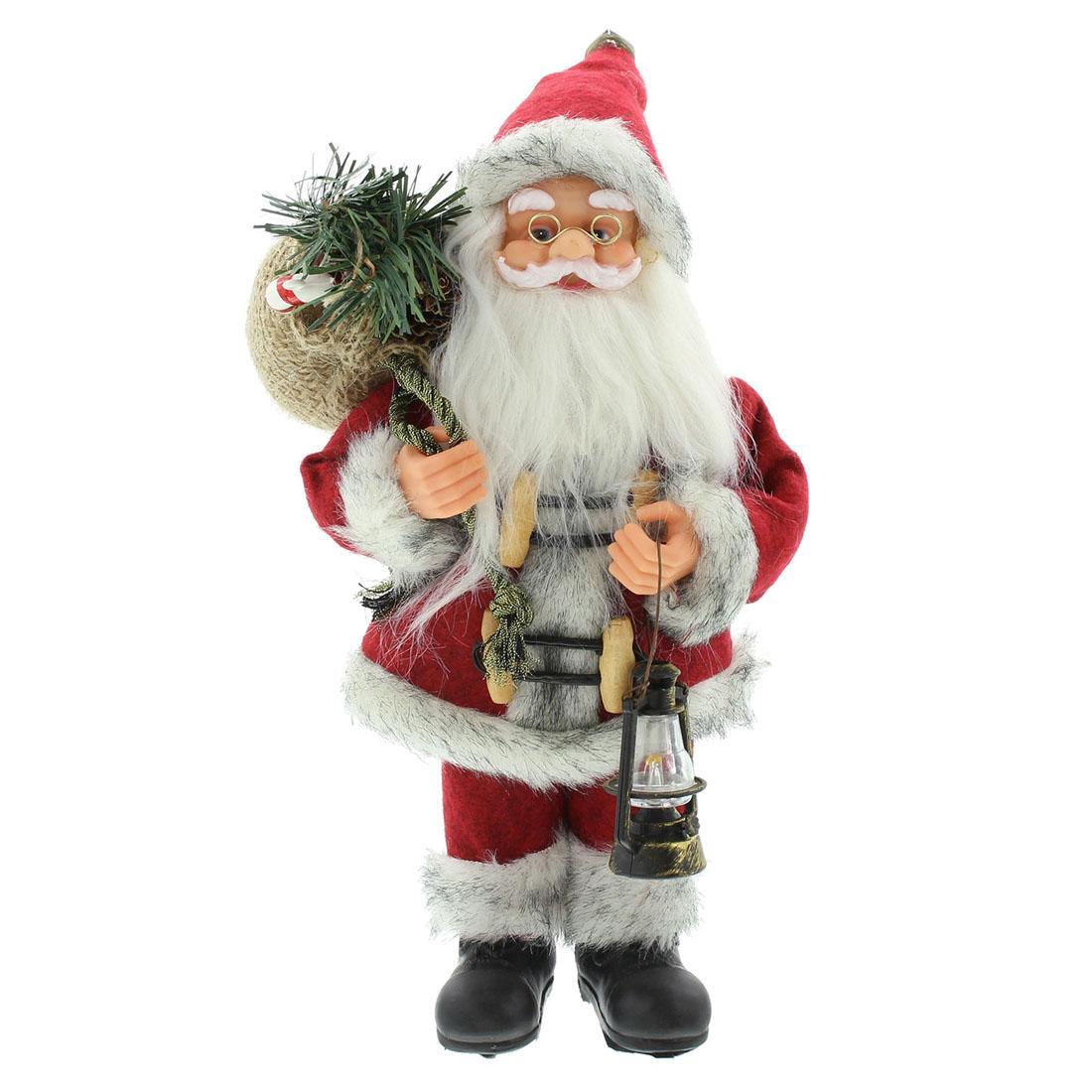 "Декоративная фигура ""Санта Клаус с фонариком"" [06541],"