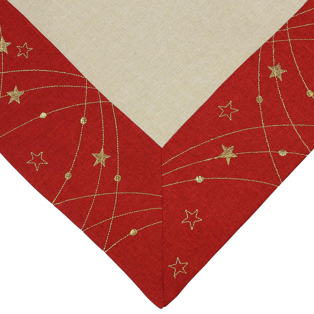 """Скатерть """"Рождественские звезды"""" [06595],"""
