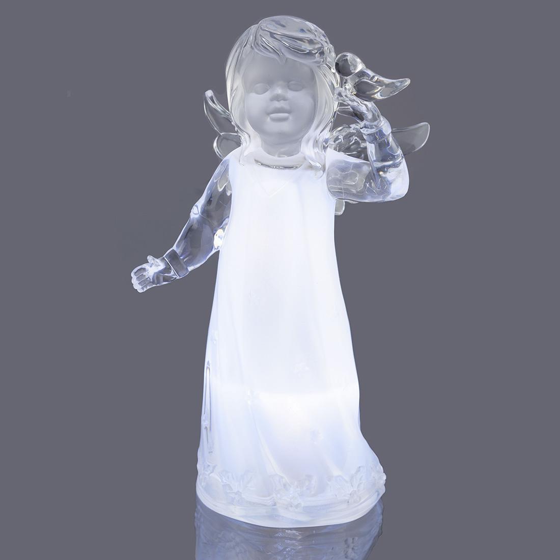 """Декоративная фигура с подсветкой """"Ангел Мария"""" [07858],"""