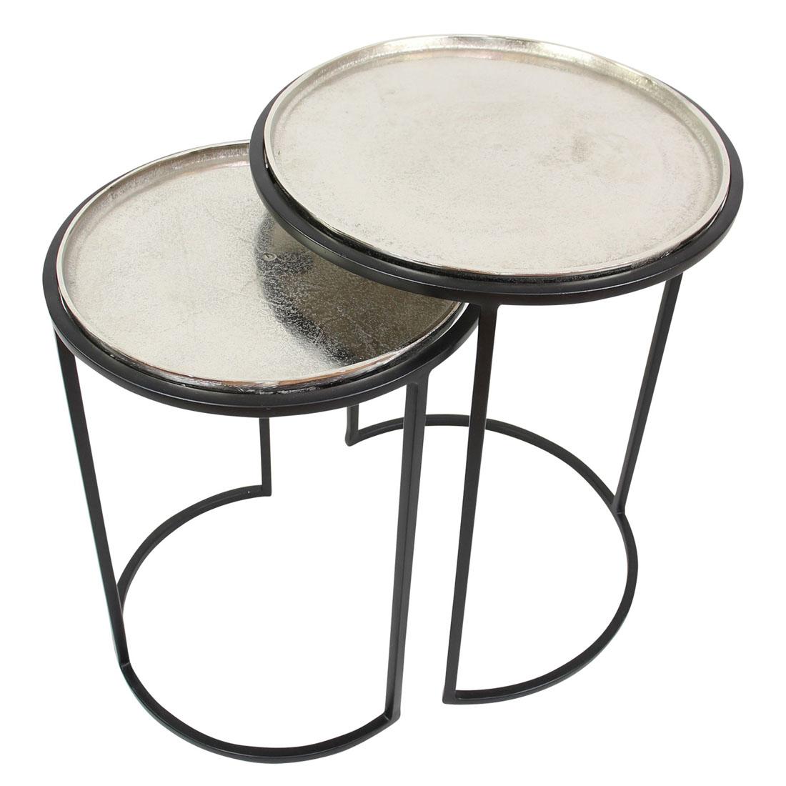 """Приставные столики """"Глиссер"""" 2 штуки [07957],"""