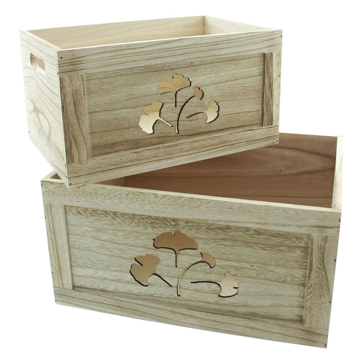 """Ящики для хранения """"Gingko"""", 2 штуки [07961],"""