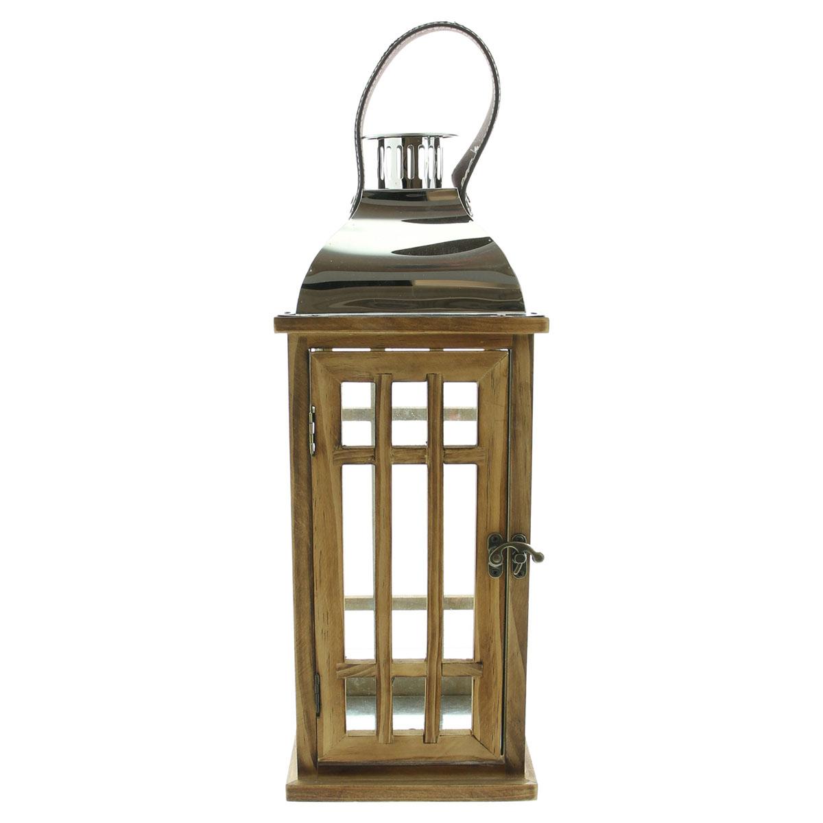 """Подсвечник-фонарь """"Wood"""" [07996],"""