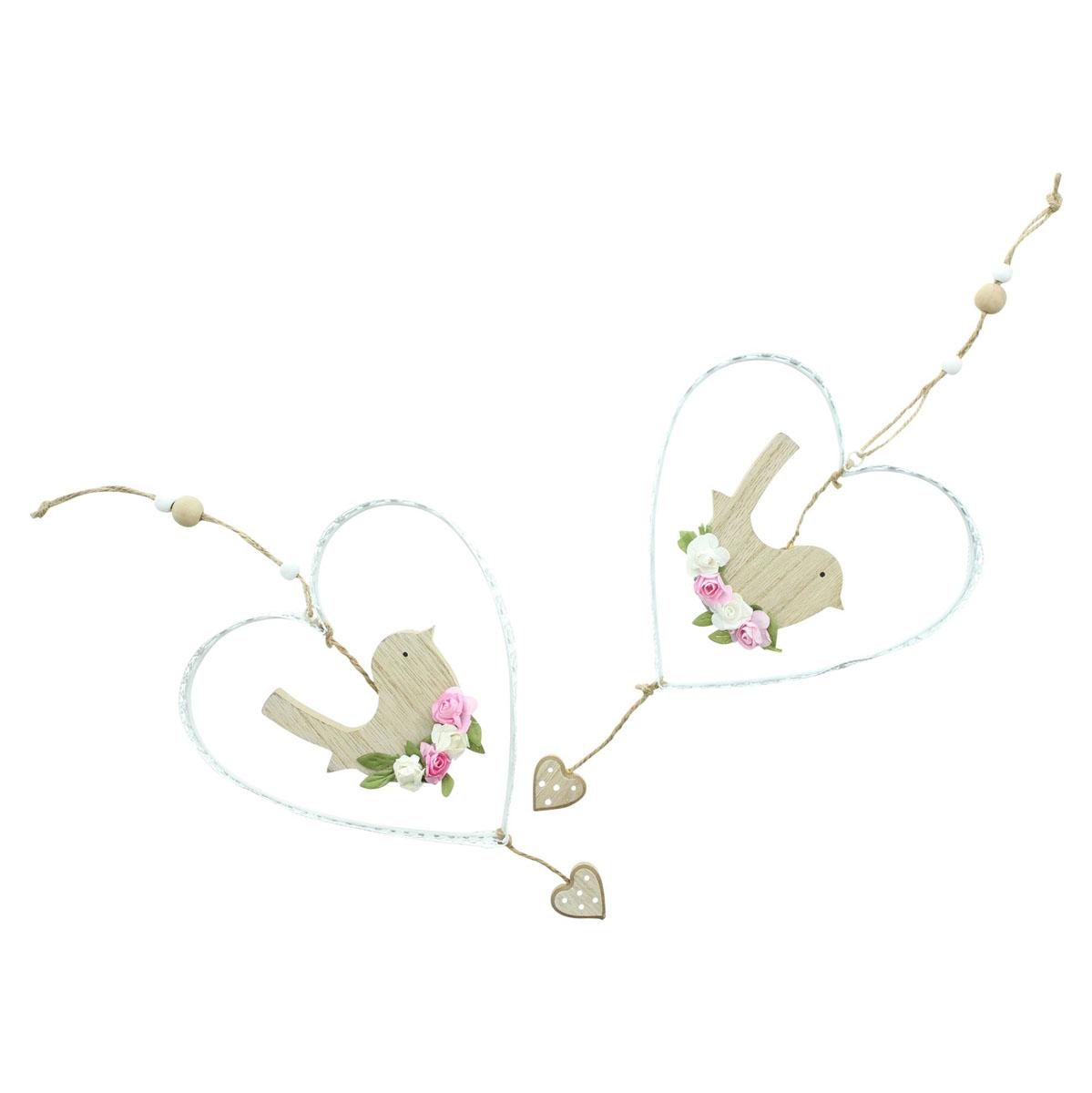 """Подвесные украшения """"Птички"""", 2 штуки [08016],"""