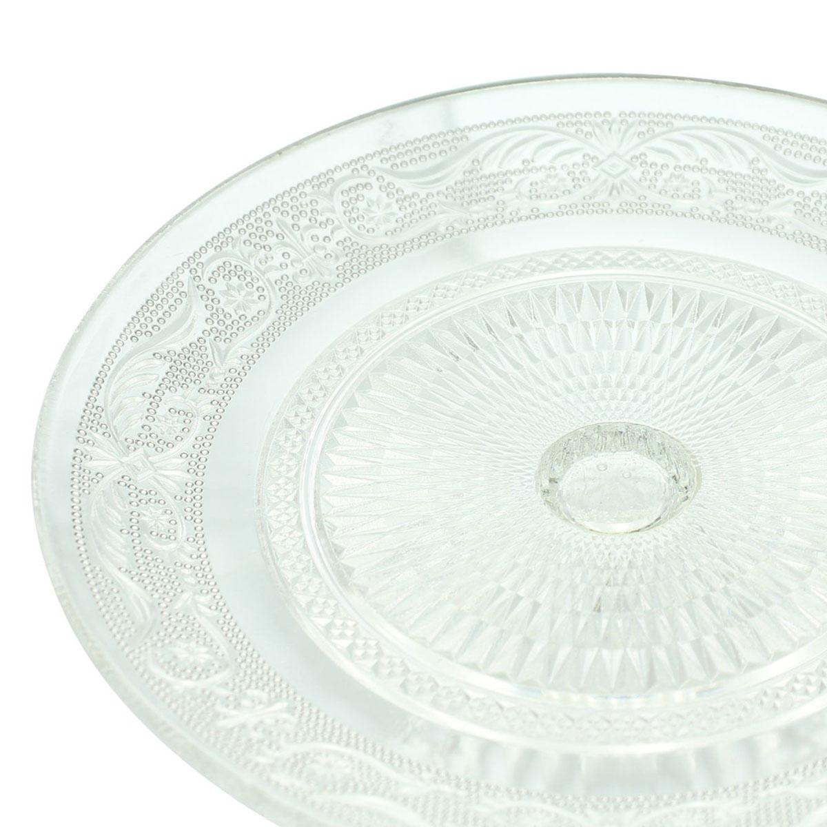 """Сервировочное блюдо с куполом """"Кристалл"""" [08028],"""