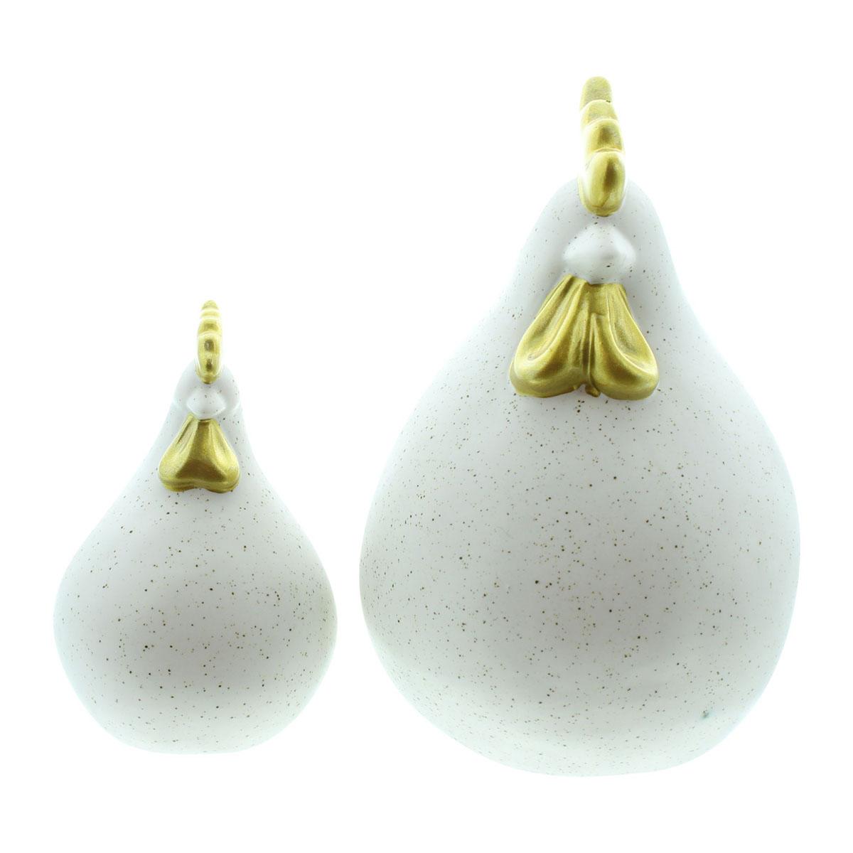 "Декоративные фигуры ""Курочки - золотые гребешки"", 2 штуки [08037],"