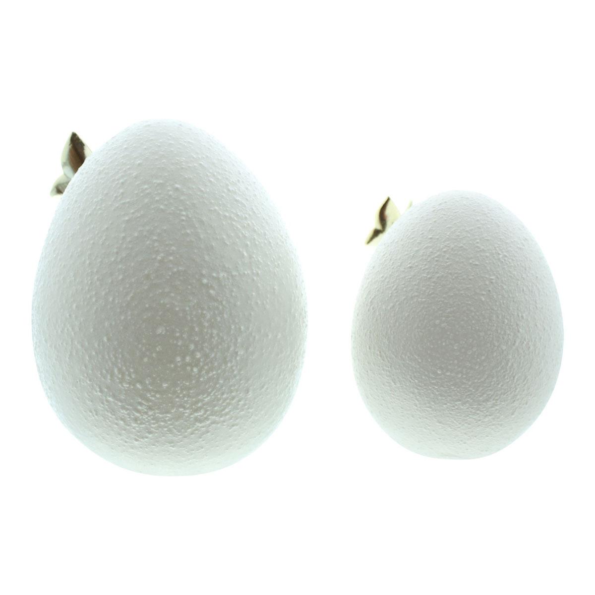 """Декоративные фигуры """"Пасхальные яйца с бабочками"""", 2 штуки [08041],"""