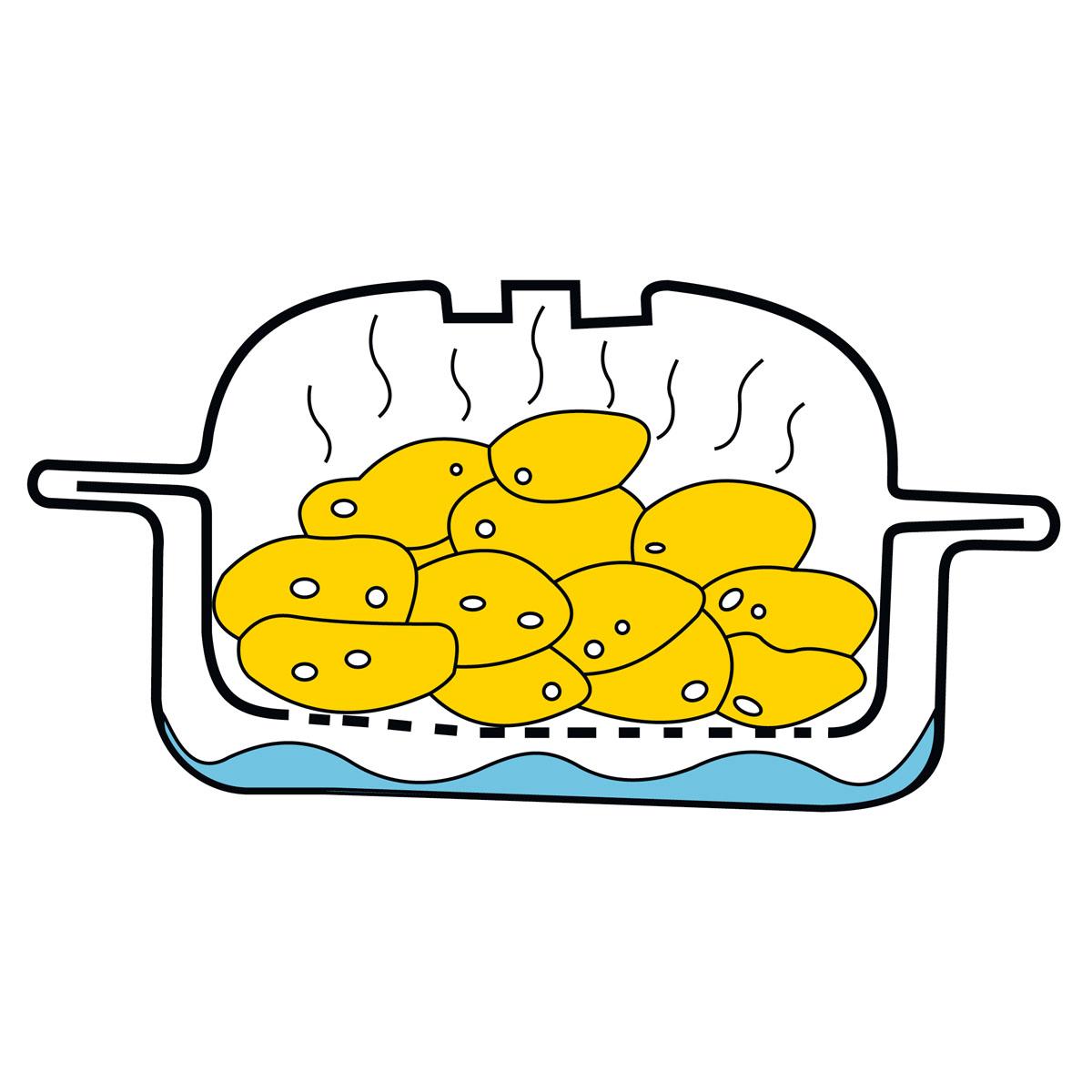 """Пароварка для картофеля """"Микро"""" [08116],"""