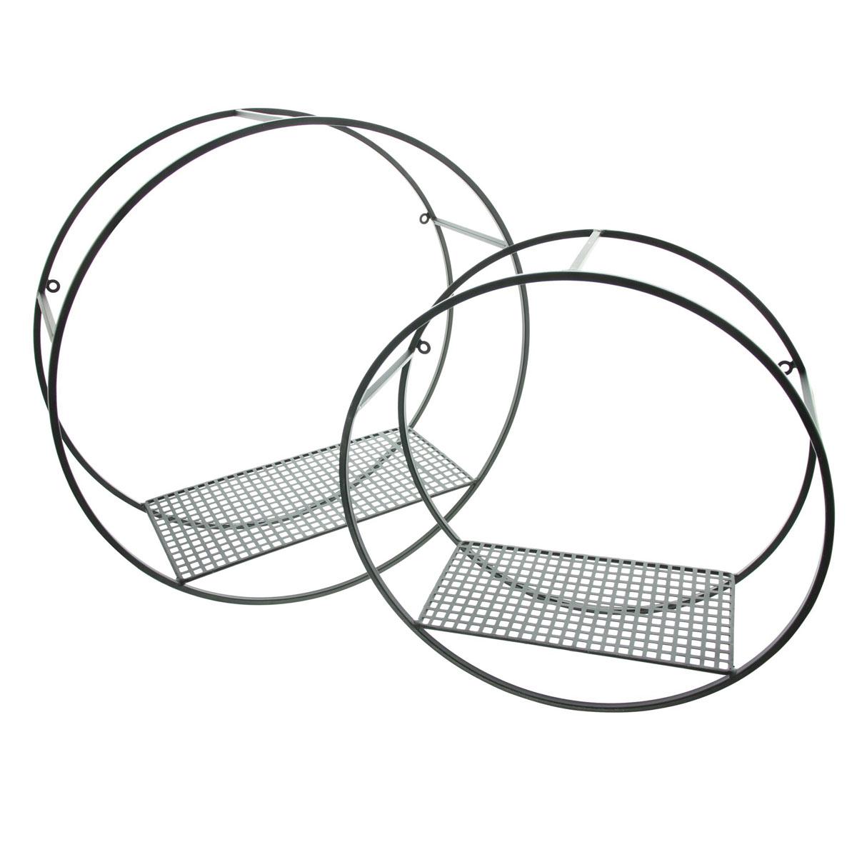 """Настенные полки """"Circle"""", 2 штуки [08056],"""