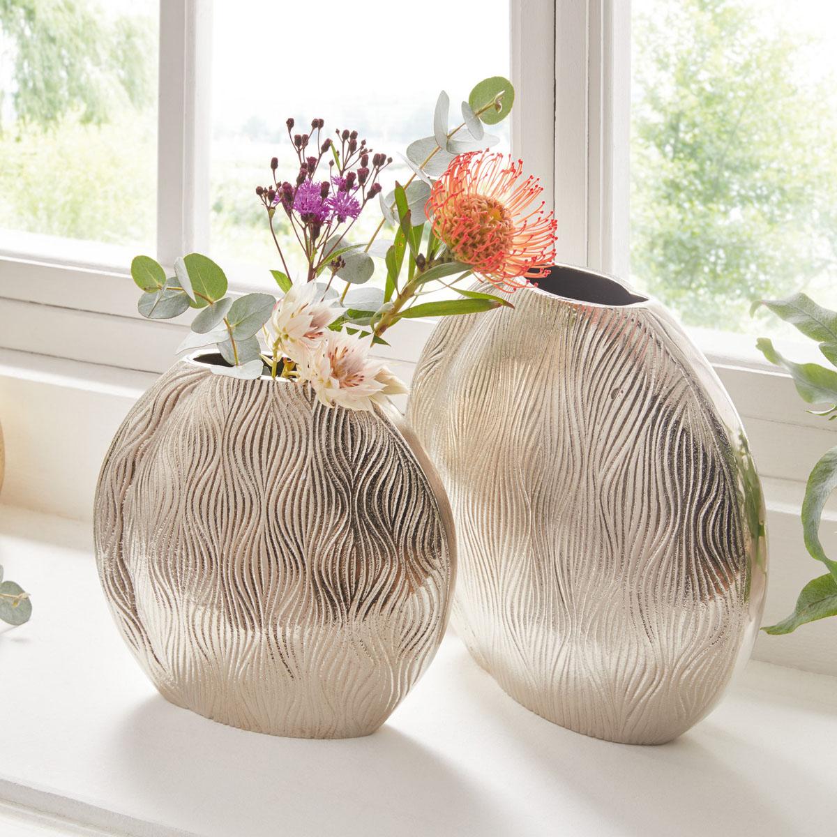 """Декоративные вазы """"Waves"""", 2 штуки [08058],"""