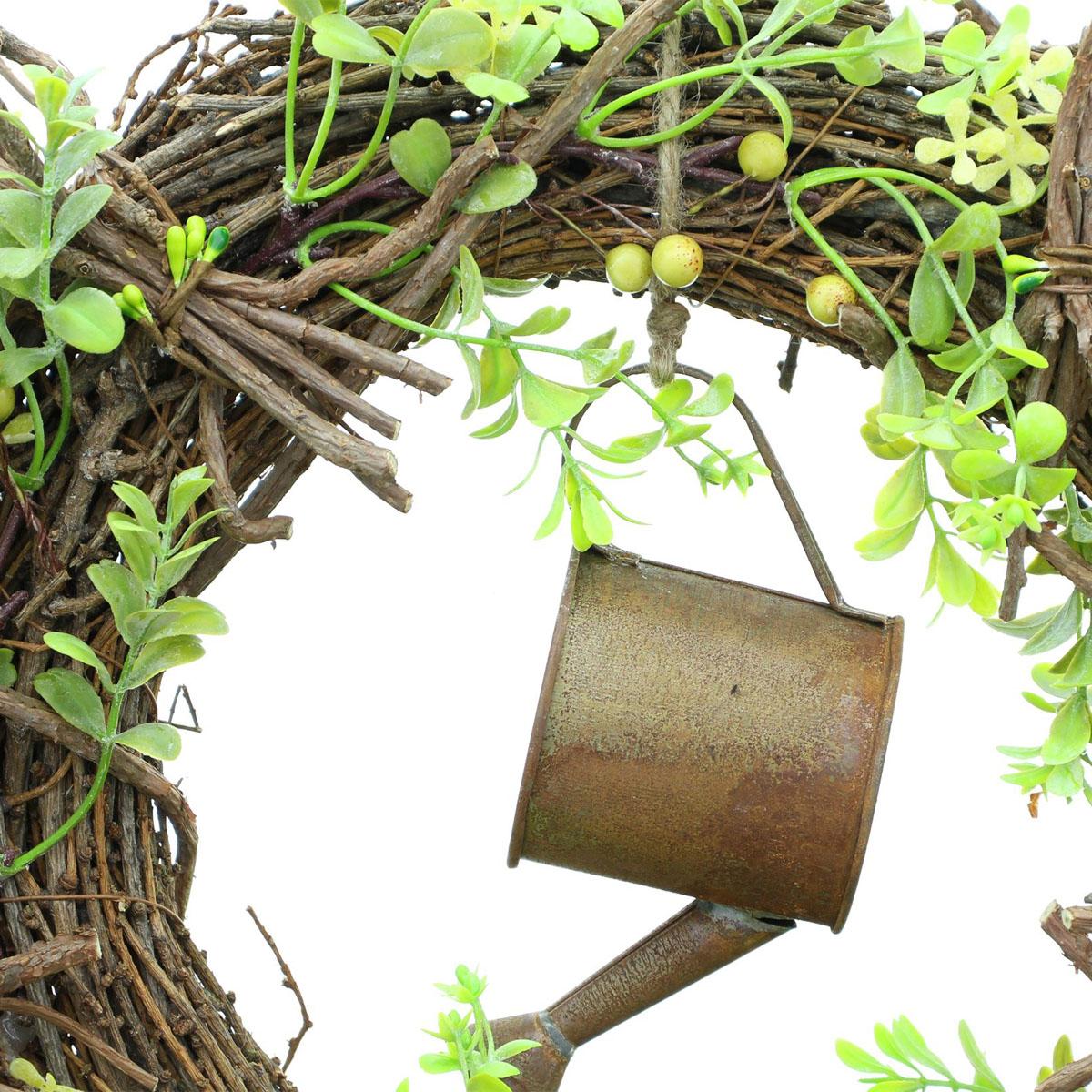 """Декоративный венок """"Весна в саду"""" [08070],"""