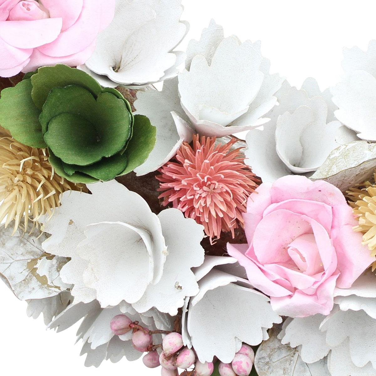 """Декоративный венок """"Цветы"""" [08098],"""