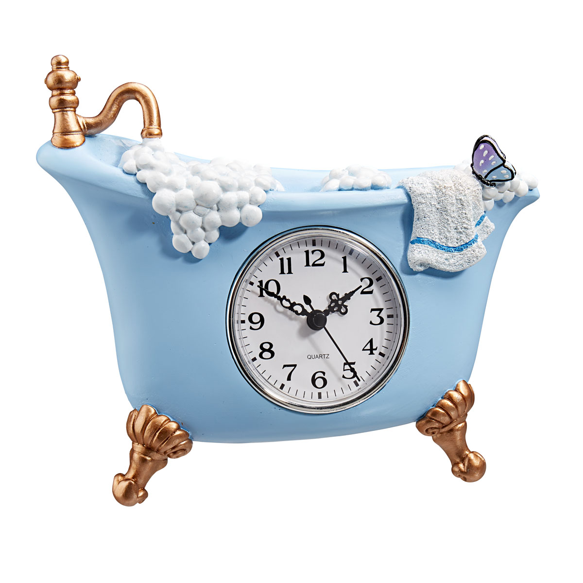 """Часы настенные для ванной комнаты """"Ванна"""" [08201],"""