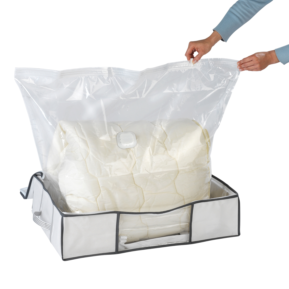 """Бокс для хранения """"Soft"""", с вакуумным мешком [08268],"""