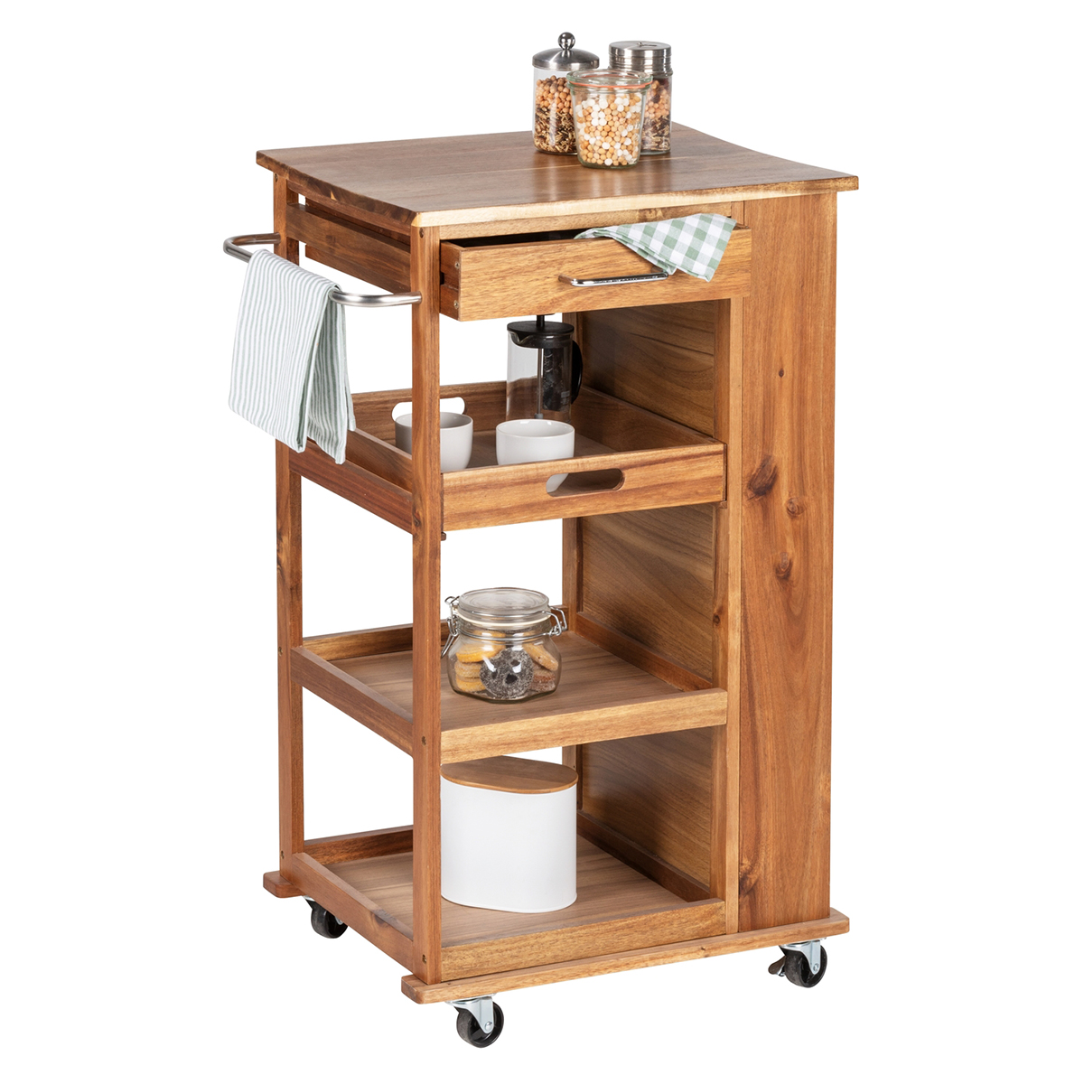 "Кухонный столик-тележка ""Akazie"" [08277],"