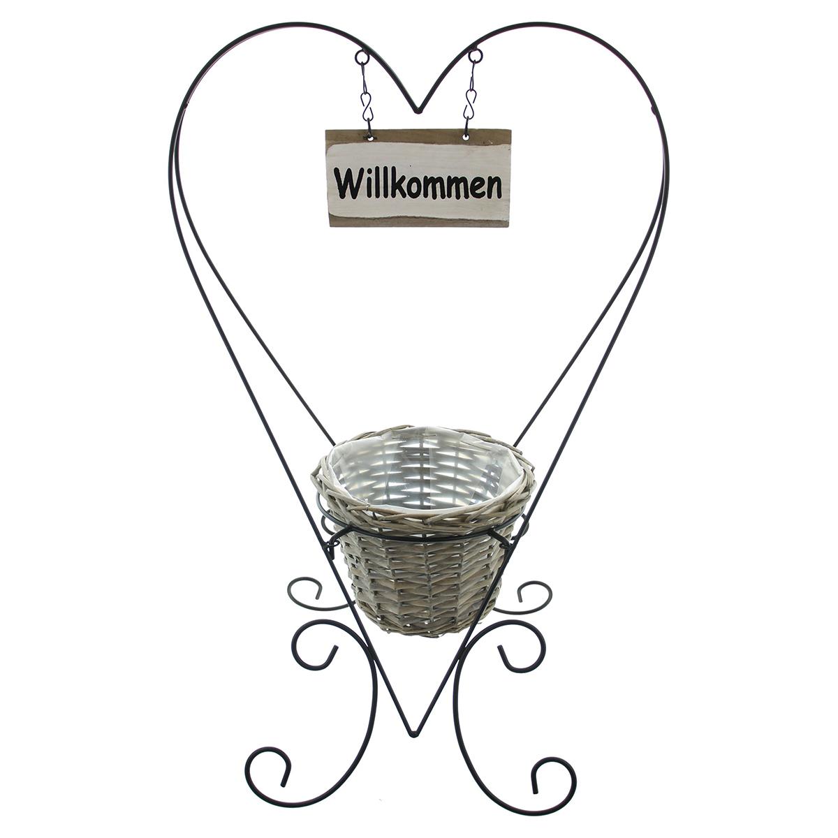 """Кашпо """"Willkommen"""" [08297],"""
