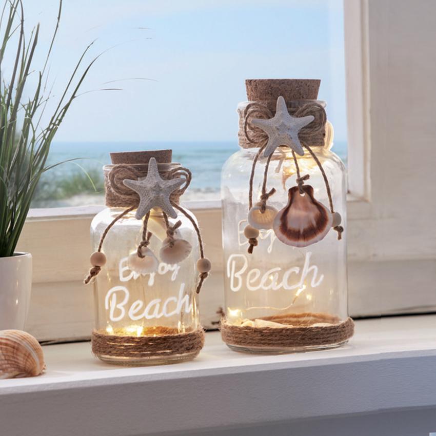 """Декоративные украшения со светодиодной подсветкой """"Beach"""" 2 штуки [08305],"""