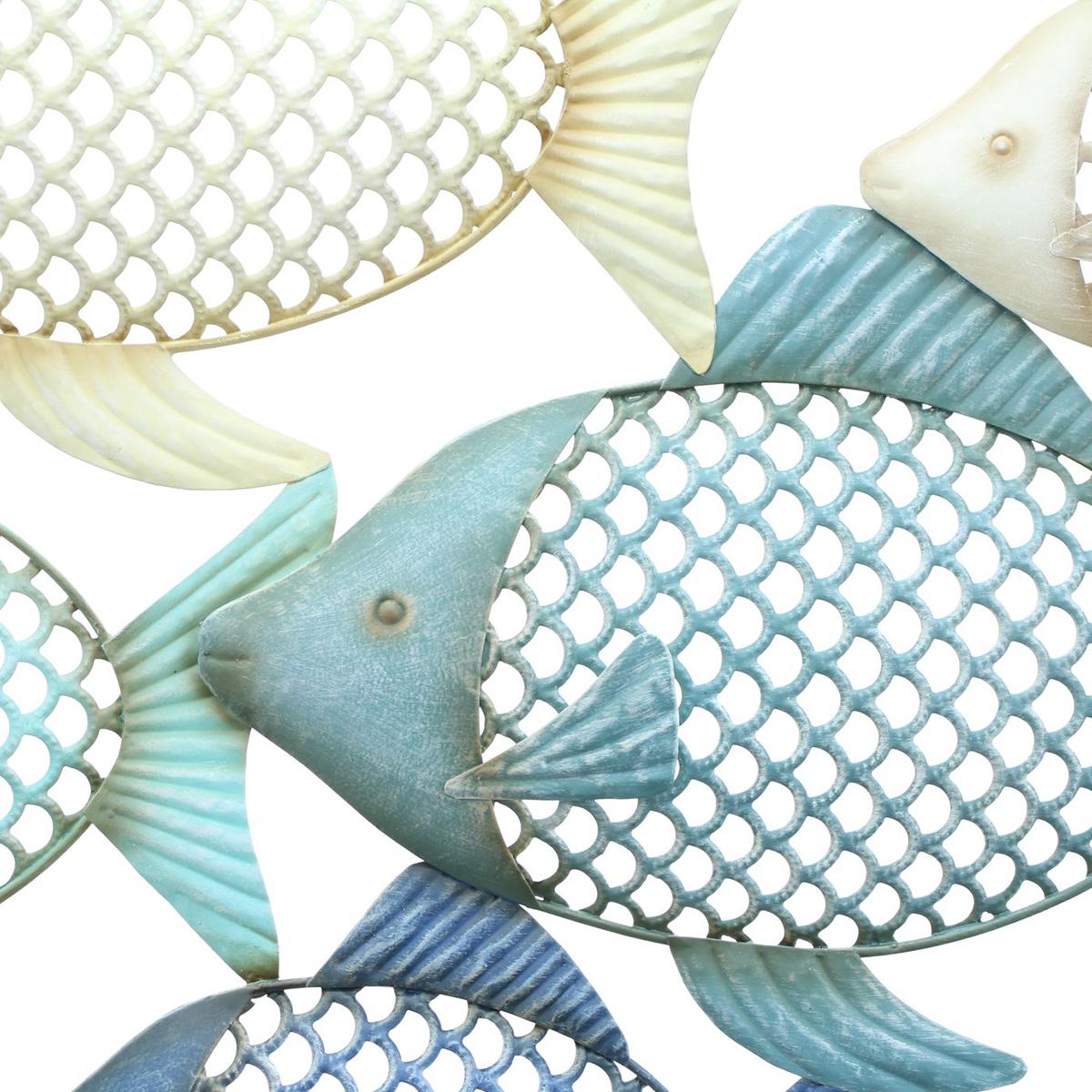 """Настенное украшение """"Стая рыбок"""" [08306],"""